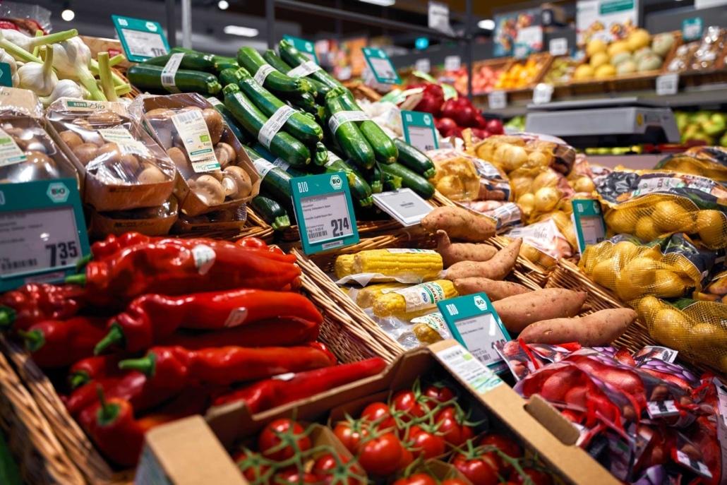 Obst & Gemüse REWE Berlin Supermarkt
